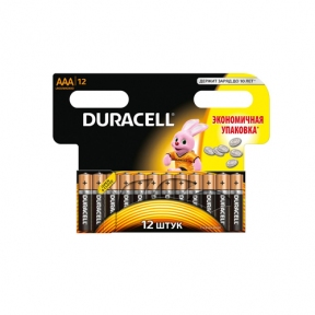Батарейка LR3 лужна Duracell  MN2400, упаковка 12шт
