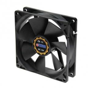 Вентилятор 92 mm Titan TFD-9225 L 12 Z 92х92х25мм, 3c/3p
