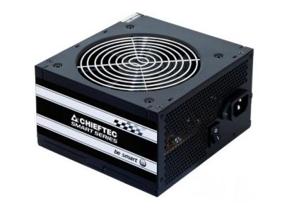 Блок живлення Chieftec 500W GPS-500A8,12cm fan,a/PFC,24+4,2xPeriphe ral