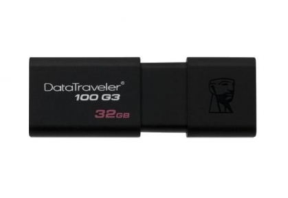 USB3.0 Flash Drive 32 Gb Kingston DT 100 G3 (DT100G3/32GB)