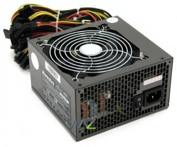 Блок живлення Huntkey LW-6600HGB; Win7 6600 APFC; ATX 600W 12 cm fan; V2