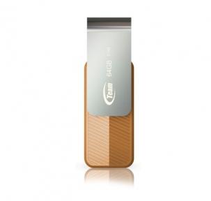 USB Flash Drive 64 Gb Team C142 Brown (TC14264GN01)