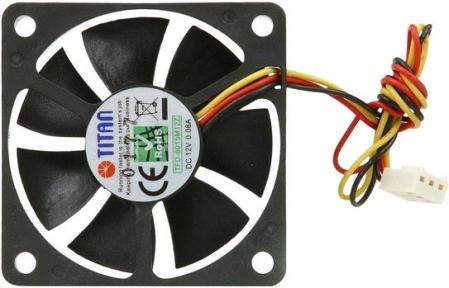 Вентилятор 60мм Titan TFD-6015M12Z 60x60x15мм, 3p/3c