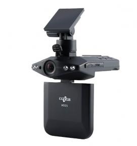 Автомобильный видеорегистратор Gazer H521 (Одна камера. Разрешение записи 1280x720  (