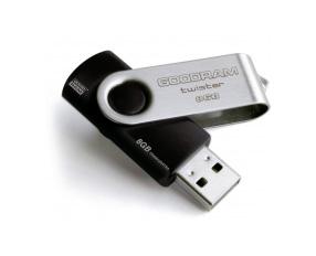 USB 3.0 Flash Drive 8 Gb GOODRAM UTS3 (Twister) Black (UTS3-0080K