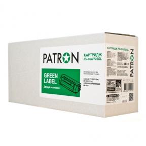 КАРТРИДЖ HP LJ CE285A/CANON 725 (PN-85A/725GL) PATRON GREEN Label