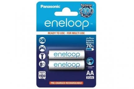 Акумулятор R6 Panasonic Eneloop BK-3MCCE/2BE, AA/(HR6), 1900mAh
