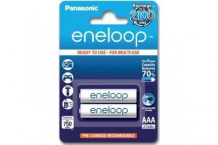 Акумулятор R3 Panasonic Eneloop BK-4MCCE/2BE, AAA/(HR03), 750mAh