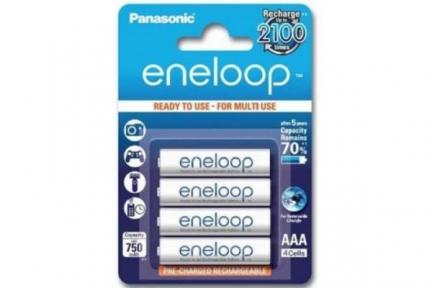 Акумулятор R3 Panasonic Eneloop BK-4MCCE/4BE, AAA/(HR03), 750mAh