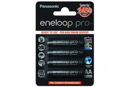 Акумулятор R6 Panasonic Eneloop Pro BK-3HCDE/4BE, AA/(HR6), 2500mAh