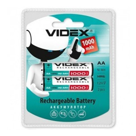 Акумулятор R6 Videx HR6/AA 1000MAH double blister/2pcs 20/200