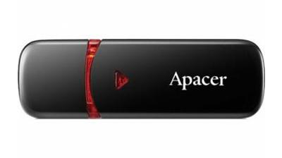 USB Flash Drive 16 Gb Apacer AH333 Black USB 2.0 (AP16GAH333B
