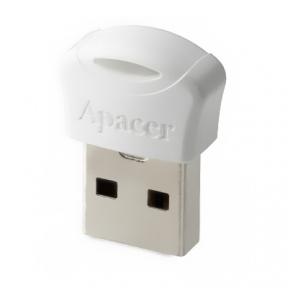 USB Flash Drive 32 Gb Apacer AH116 white USB 2.0 (AP32GAH116W