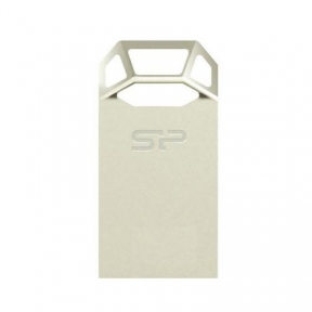USB Flash Drive 32 Gb SILICON POWER Touch T50 Silver (SP032GBUF