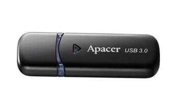 USB3.0 Flash Drive 16 Gb Apacer AH355 Black (AP16GAH355B-1)