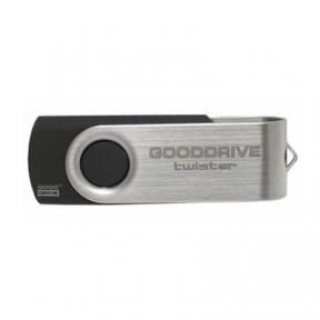 USB Flash Drive 16 Gb GOODRAM Twister Black (UTS2-0160K0R11)