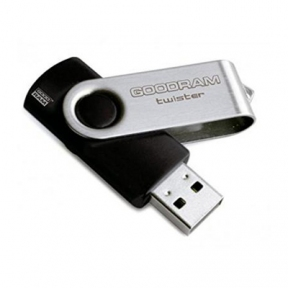 USB Flash Drive 8 Gb Goodram UTS2 (Twister) Black (UTS2-0080K