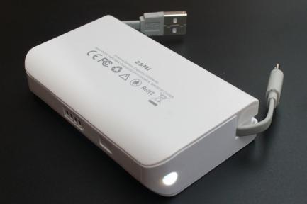 Зовнішній акумулятор (Power Bank) FrimeCom 2SMI-WT (REAL  4000mAh