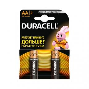Батарейка LR6 лужна Duracell LR06 MN1500 1x2 шт