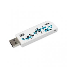 USB Flash Drive 16 Gb GoodRAM Click White (UCL2-0160W0R11)