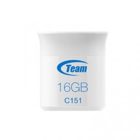 USB Flash Drive 16 Gb Team C151 White (TC15116GL01)