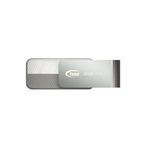USB Flash Drive 32 Gb Team C142 White (TC14232GW01)
