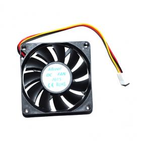 Вентилятор 70 mm ATcool 7015, 3pin, розміри 70*70*15мм 3598