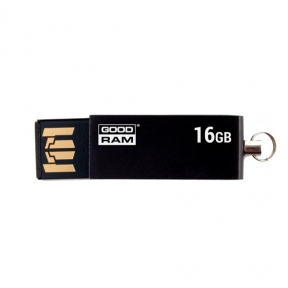 USB Flash Drive 16 Gb Goodram UCU2 Cube Black (UCU2-0160K0R11)