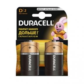 Батарейка LR20 лужна Duracell LR20, 2шт, блістер