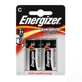 Батарейка LR14 лужна Energizer Power LR14, 2шт в блістері