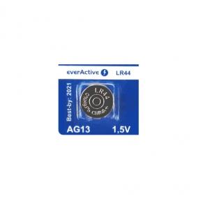 Батарейка для часов LR44 everActive AG 13, 1.5V, блистер 1шт