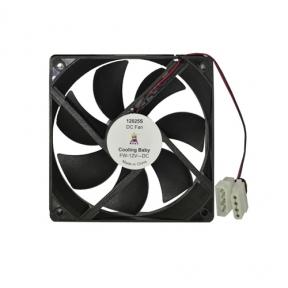Вентилятор 120 mm 12025S Black Cooling Baby 120x120x25мм SB 12В 0