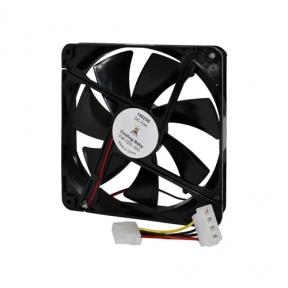 Вентилятор 140 mm 14025S Black Cooling Baby 140x140x25мм SB 12В 0