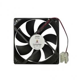 Вентилятор 120 mm Cooling Baby 12025 PWM 120x120x25мм HB, 12В