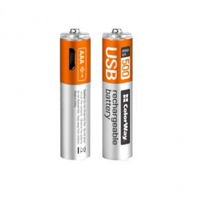 Акумулятор R3 ColorWay AAА micro USB 400 мАЧ 1.5В (Li-Polymer) (