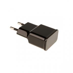Зарядний пристрій USB 220В Grand-X 5V 2,1A (CH03LTW) White c захистом