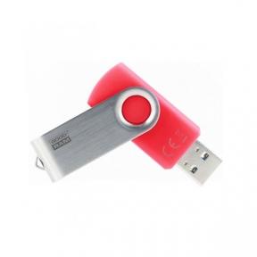 USB3.0 Flash Drive 64 Gb Goodram Twister Red (UTS3-0640R0R11)