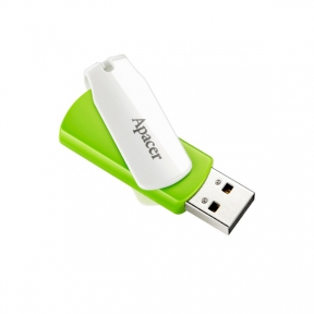 USB Flash Drive 16 Gb Apacer AH335 Green USB 2.0 (AP16GAH335G