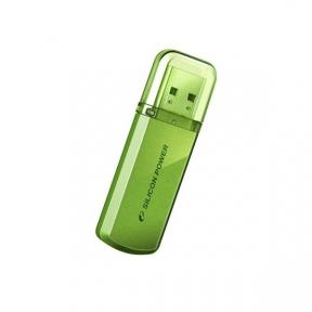 USB Flash Drive 64 Gb SILICON POWER Helios 101 64Gb Blue (SP064GBUF