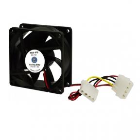 Вентилятор 80 mm Cooling Baby 8025 4PS 80x80x25мм SB 12В 0,21А 24