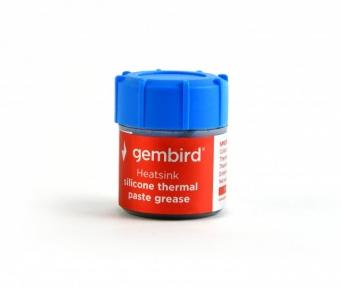 Термопаста Gembird TG-G15-02 15 g, grey f.CPU&VGA, > 4,63 W/mK