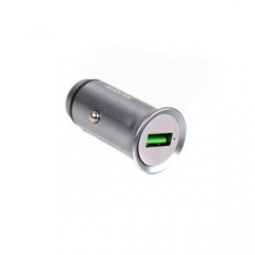 Автомобільний зарядний пристрій Maxxter UCQC-21A , (швидка зарядка Qualcomm) 5V