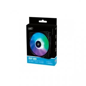 Вентилятор 120 mm Deepcool RF120 120x120x25мм, HB, 500±200 -1500±10%об