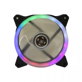 Вентилятор 120 mm Cooling Baby 12025HBRB-1 RAINBOW 1 різнокольоровий round LED 120x120x25мм HB