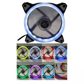 Вентилятор 120 mm Cooling Baby 12025HBRGB RAINBOW Spectrum 120x120x25мм HB