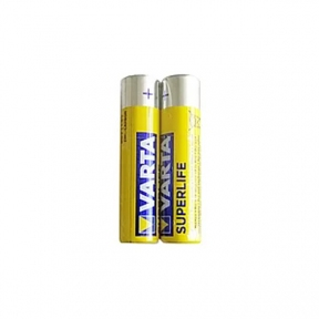Батарейка R3 сольова Varta SUPERLIFE, тип АAА (блістер на 2 шт