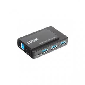 Хаб-ЮСБ USB 3.0 STLab U-770 7 портів - 3 порти USB 3.0 + 4 порти USB 2