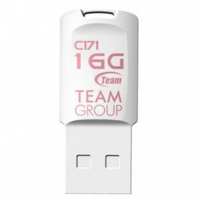 USB Flash Drive 16 Gb Team C171 White (TC17116GW01)