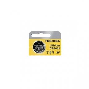 Батарейка CR2032 Toshiba літієва, блістер 5 шт