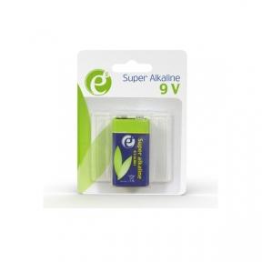 Батарейка 6LR61 лужна EnerGenie EG-BA-6LR61-01 (крона), блістер